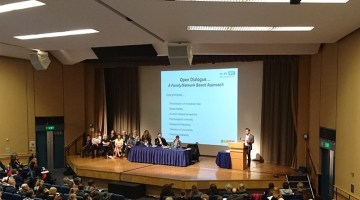 peer supported open dialogue conference