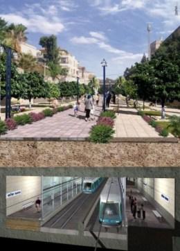 Tel Aviv light rail image