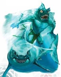 #sharkweek Crystal Sahuagin