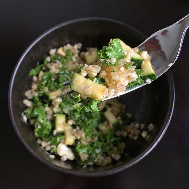 Pineapple Coconut Buckwheat Salad