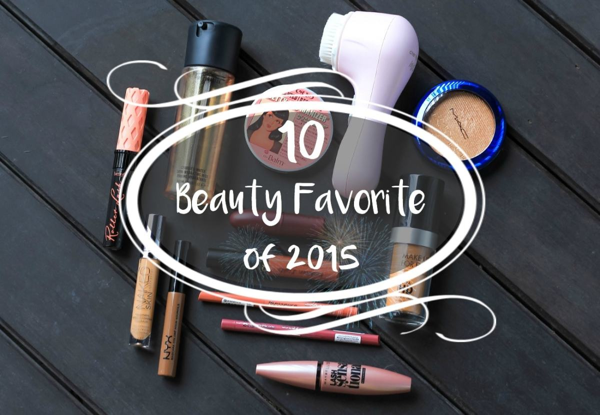 10 Beauty Favourites | Product That I Loved In The Year Of 2015