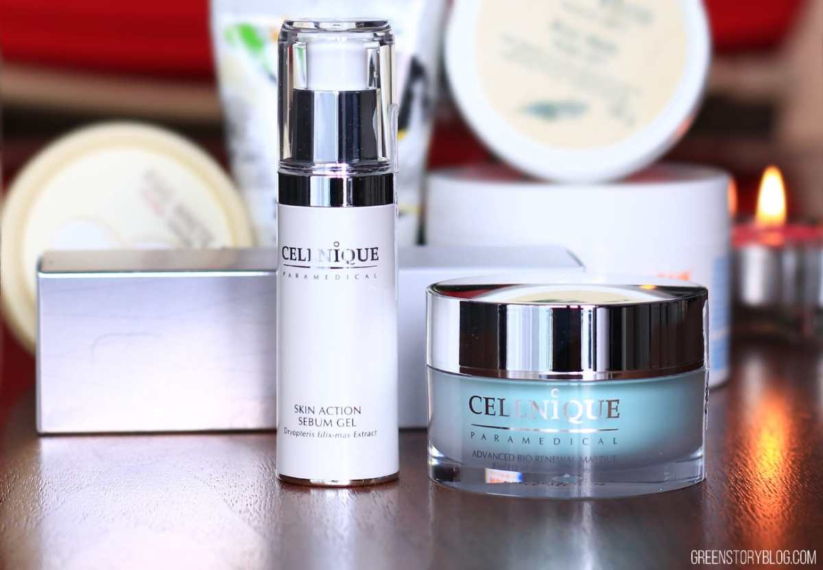 Cellnique Advance Bio Renewal Masque & Skin Action Sebum Gel