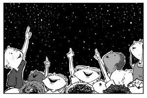 Star Gazers illustration