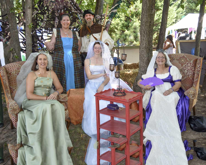 """The Renaissance Faire """"Royal Court"""""""
