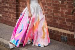 Small Of Rainbow Wedding Dress