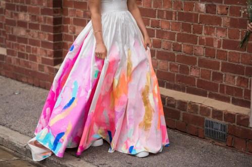 Medium Of Rainbow Wedding Dress