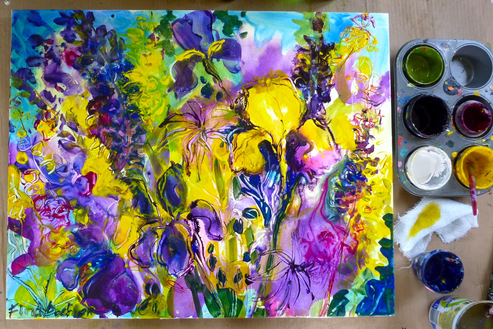 Fullsize Of Easy Acrylic Paintings