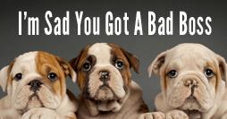 Facebook Ad 1 Sad You Got  Bad Boss 254x133