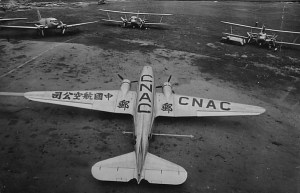DC-3, DC-2, and 2 Curtiss Condors