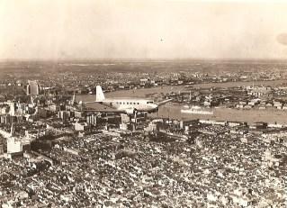 Maiden flight over Shanghai, 1935