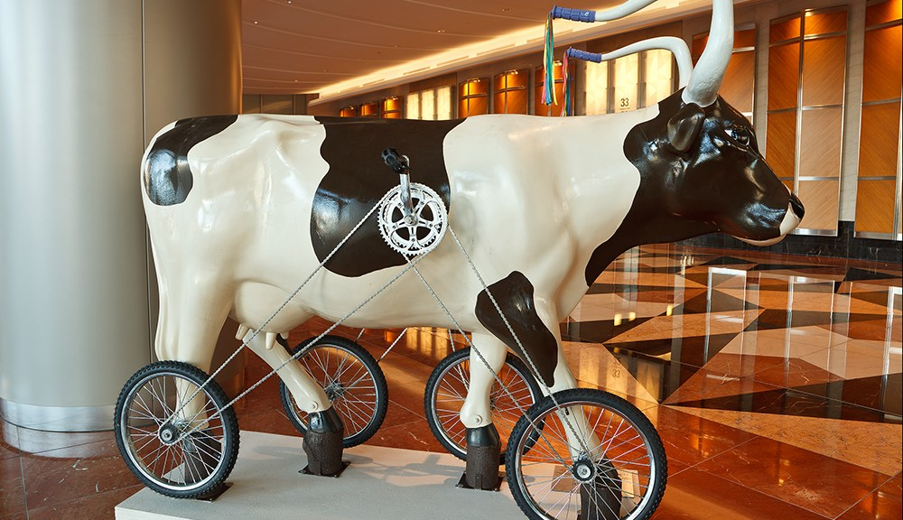 CowParade Calendar_May_Cowcycle