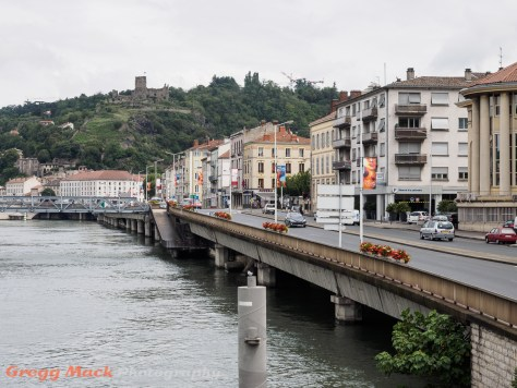 From our docked river boat in Vienne.