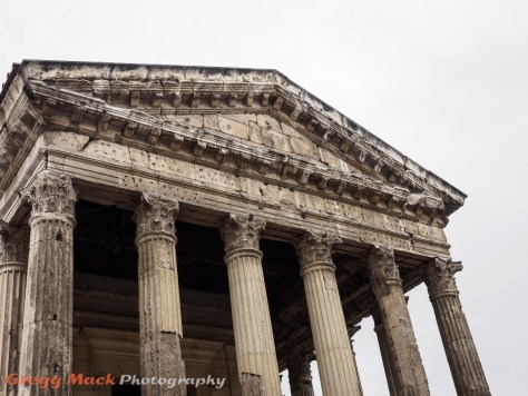 Roman temple in Vienne.