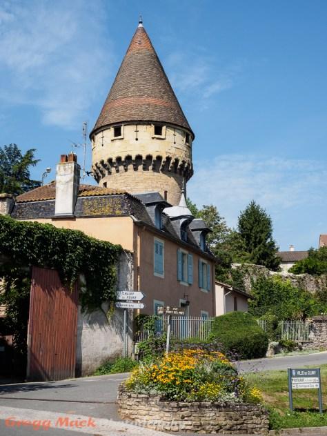 Cluny, in the Burgundy region.