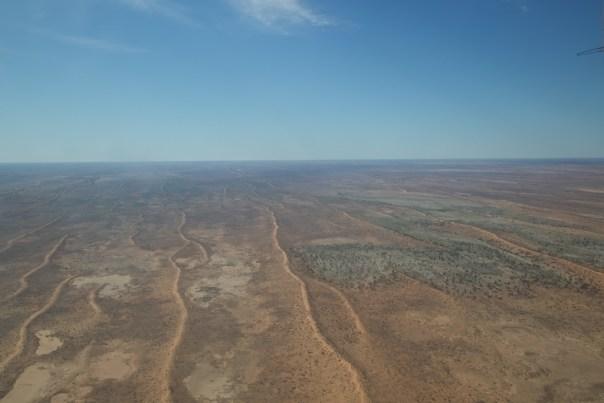 Red sand of the Simpson desert
