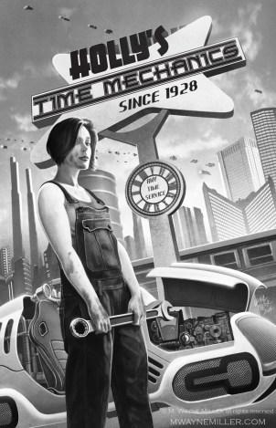 the time mechanic, orson scott card's intergalactic medicine show (2014)