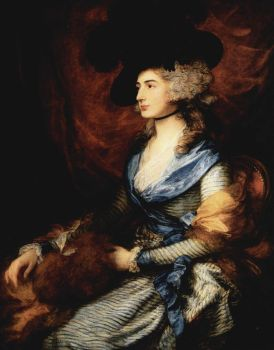 sarah siddons by gainsborough