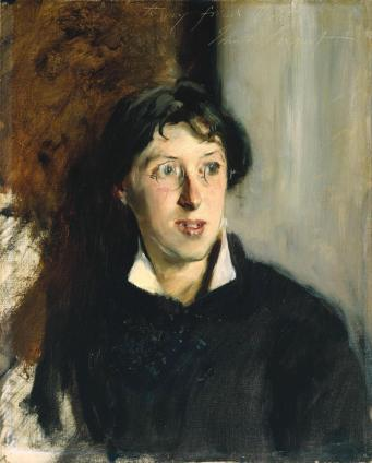 vernon lee, by sargent (1881)