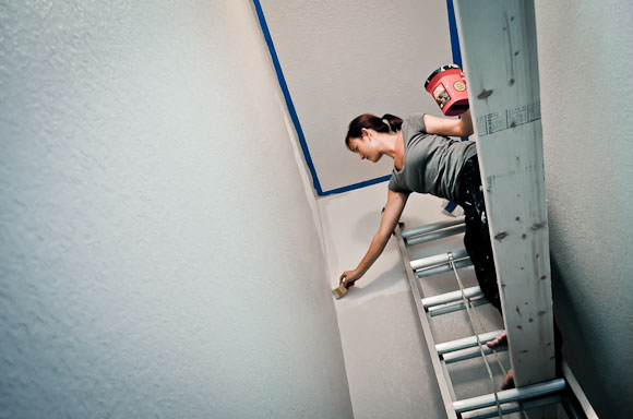 ... Image Result For Painting High Ceilings In Stairwells