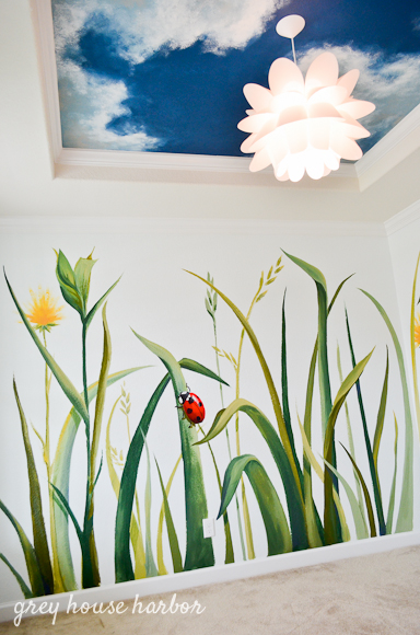 bug / insect kids playroom  |  greyhouseharbor.com