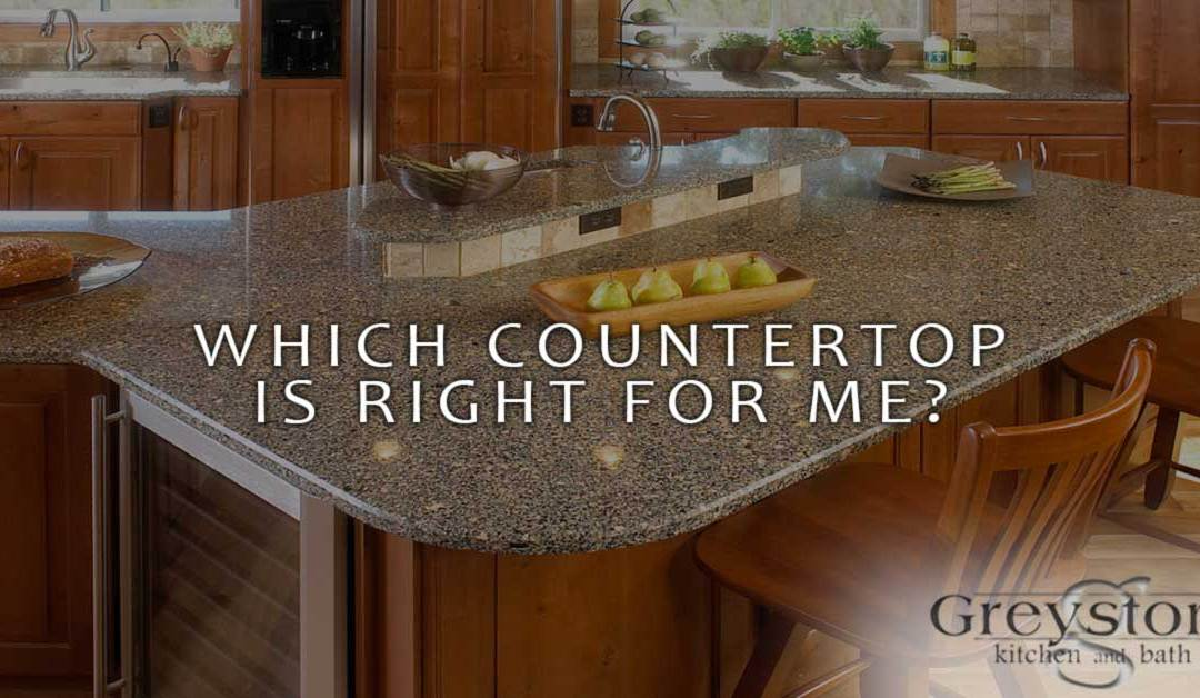 Which Countertop is Right for Me?