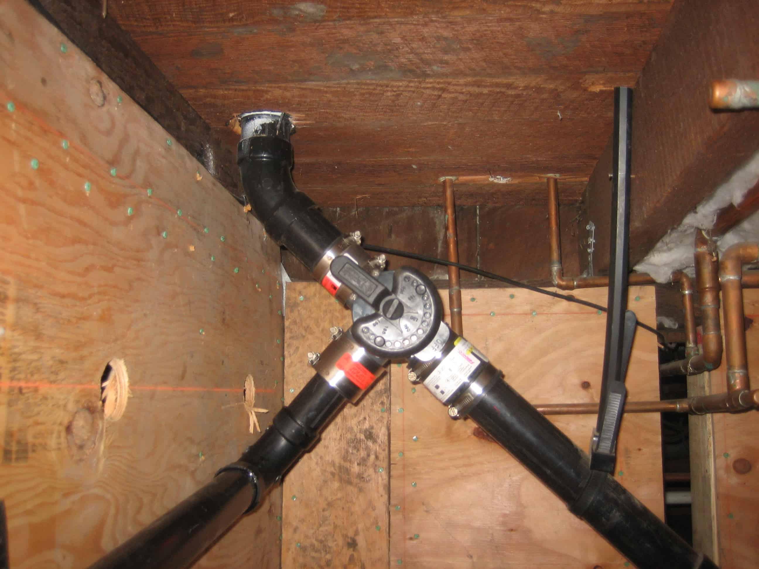 kitchen sink system branched drain kitchen sink plumbing 3 way diverter valve