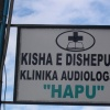 Hapu Clinic Albania sign