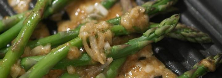 Asparagus & Lemon Pepper Vinaigrette Grilled Cheese Ingredients: Grilling Asparagus