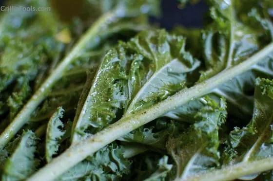 Grilled Kale Caesar Salad 4