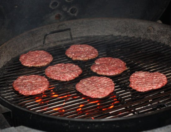 How to grill McDonalds style burger patties