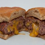 Cheese Stuffed Cheeseburgers