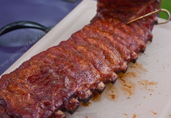 Cooking ribs on the pit barrel cooker - grilling24x7.com