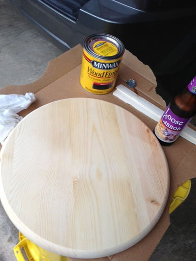 building a side table for an ugly drum smoker
