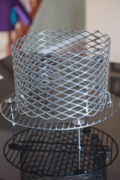 Ugly Drum Smoker Design and Build - No Weld Charcoal Basket - Grilling24x7.com