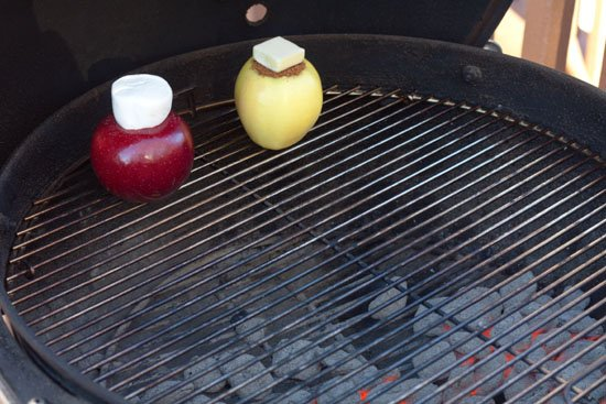 Grilled stuffed apples - Grilling24x7.com