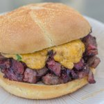 Beef Short Rib Sandwich with Melted Pimento Cheese