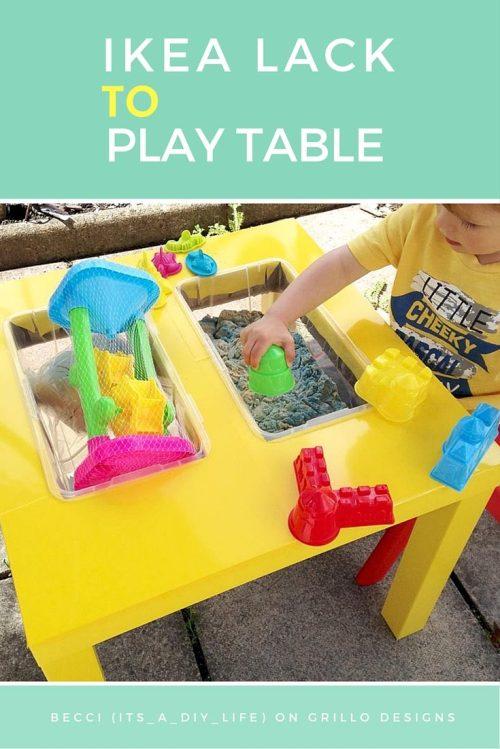 Medium Of Kids Play Table