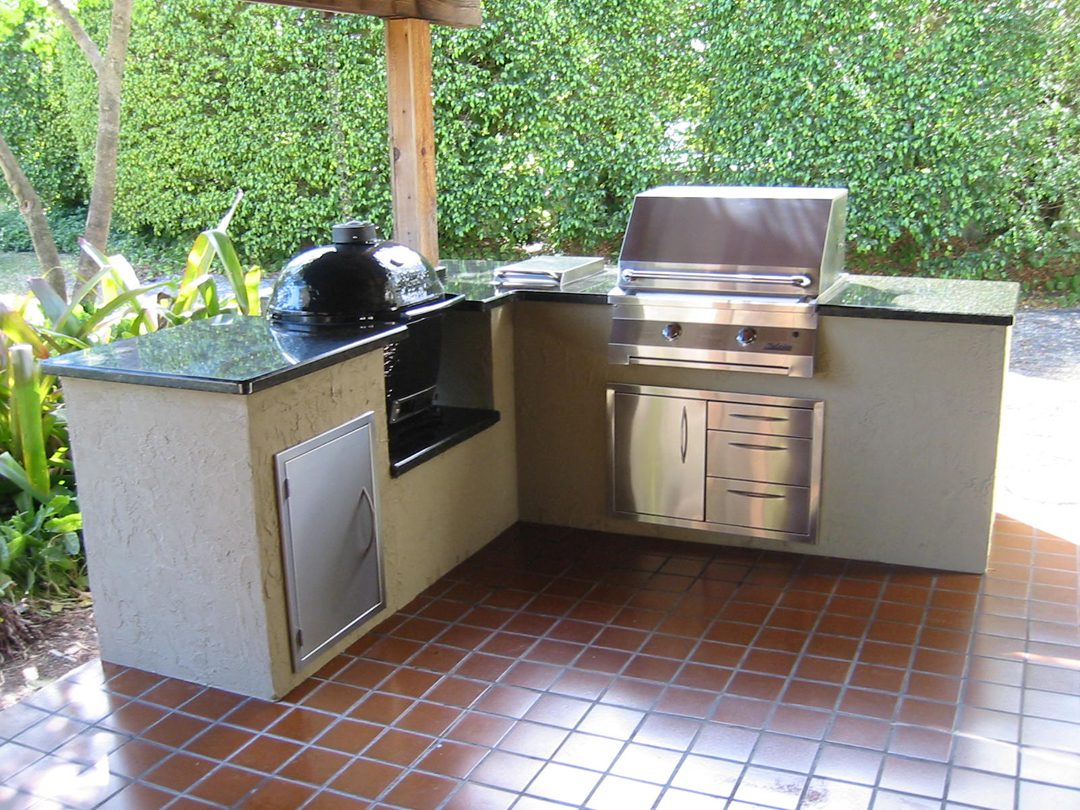 Outdoor kitchens grill islands grill repair com barbeque for Outdoor kitchen gas grills