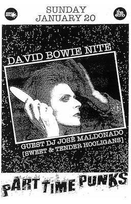 Bowie Flyer