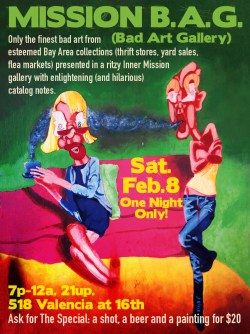 2014 SF Indiefest Bad Art Gallery Ad