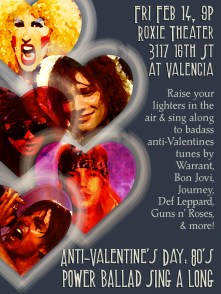 2014 SF Indiefest Anti-Valentine's Day Party Ad