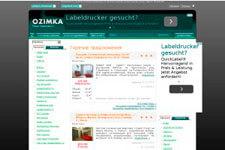скриншот сайта Ozimka