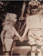 Me and Leslie, circa 1984.