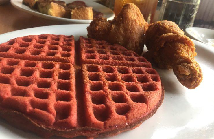 waffle menu at 4 brothers breakfast