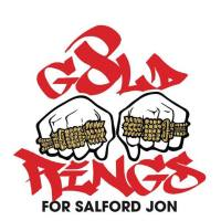 8 GOLD RINGS FOR SALFORD JOHN 2015 - raising money for Salford Royal Infirmary