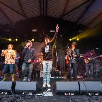 Moments from Nozstock: Richard Aldred captures The Mouse Outfit, Ghost Writerz, De La Soul and more