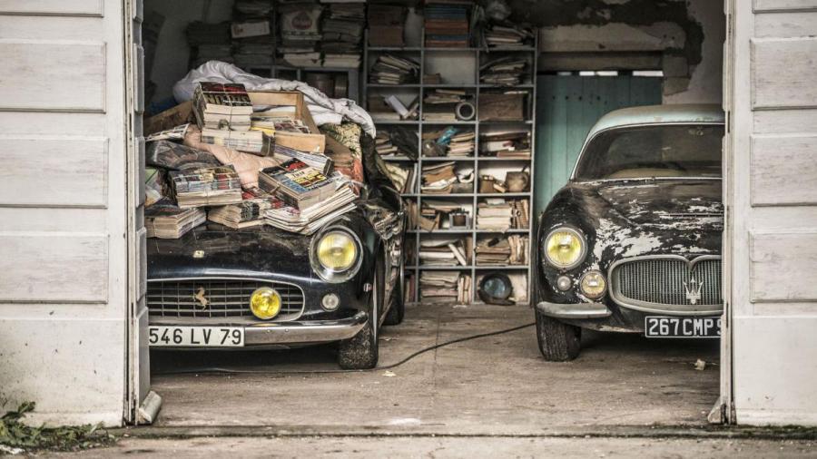 old car barn