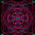 Atomic Fushia Shock Mandala