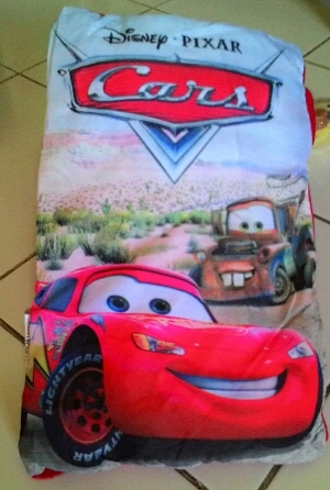 story pillow book cars