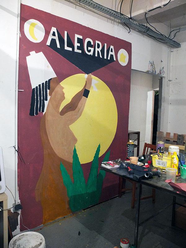 fresque, Alegria, Jarry, Orishas